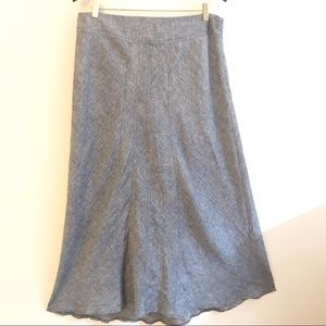 Saint Tropez West 100% Linen Maxi Skirt